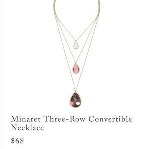 Chloe+Isabel convertible necklace